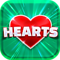 Hearts Free - Card Game icon