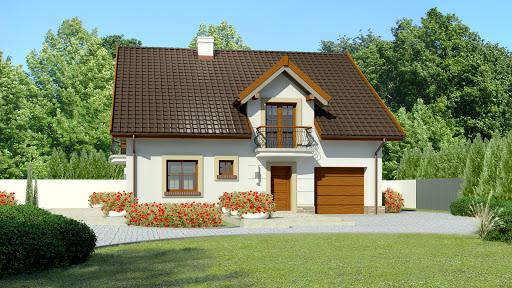 projekt Dom przy Alabastrowej 36