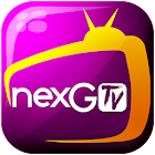 nexGTv Live TV Movies Cricket icon
