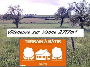 terrain à batir à Villeneuve-sur-Yonne (89)