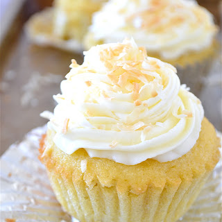 Coconut Cream Pie Cupcakes (Gluten-Free)