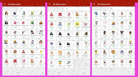 WAStickerApps Anime Sticker WASticker for WhatsApp Screenshot
