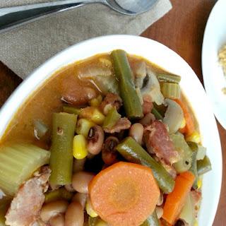 Blackeyed Pea & Vegetable Soup