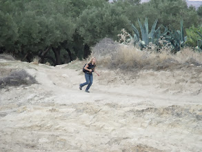 Photo: Joanna kept stopping to take photos, then running to catch up with the rest of us.