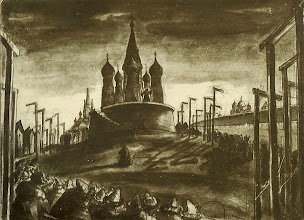 """Photo: Gallows on Red Square in Moscow (""""Ivan the Terrible"""" - Part III)"""