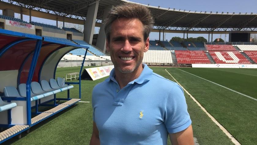 Miguel Ángel Corona, jugador de la UD Almería, también es celiaco.