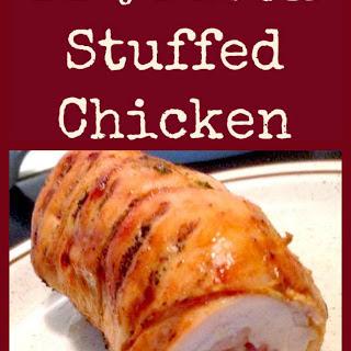BBQ Stuffed Chicken Breast.