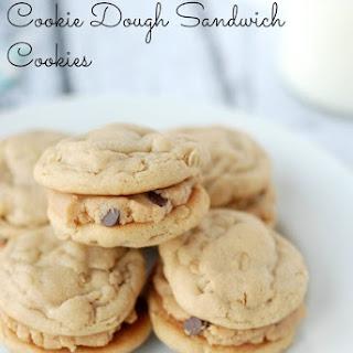 Oatmeal Peanut Butter Cookie Dough Sandwich Cookies