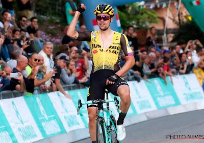 Primoz Roglic is de slimste en de sterkste in tweede etappe van Criterium du Dauphiné