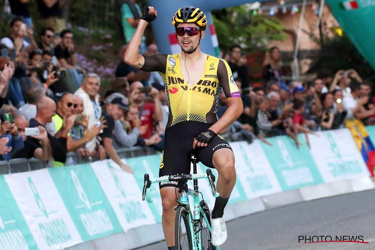 Primoz Roglic is de beste op de wereldranglijst van dit seizoen, Van Avermaet eerste Belg