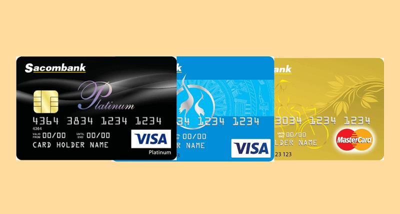 Đến với Sacombank trải nghiệm dịch vụ thẻ tín dụng tốt nhất