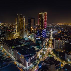 Tunjungan Plaza by Irfan Firdaus - City,  Street & Park  Night ( travel photography, cityscape, skyline, building, low light,  )
