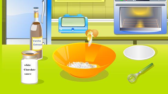 vaření hry, dort dekorace - náhled