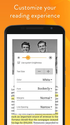 Amazon Kindle - screenshot
