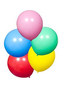 Jätteballonger, 5 st