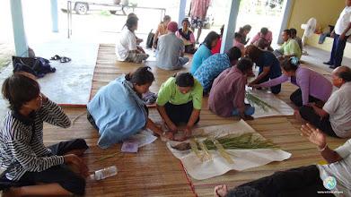 Photo: Preparation for data analysis, TOT3, Tha Tum, Surin