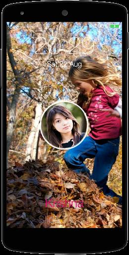 Falling Leaves Lock Screen