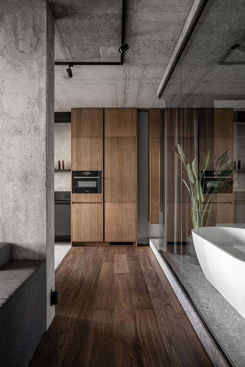 Дизайн квартири дуже стриманий