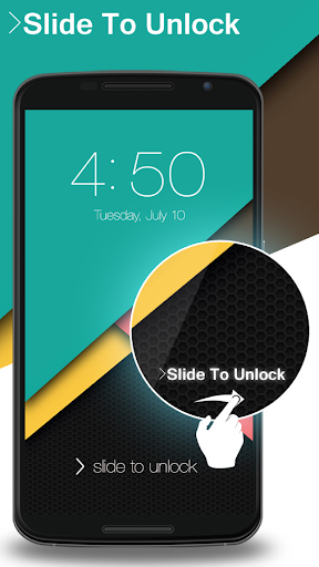 Lock Screen Nexus 6 Theme screenshot 3