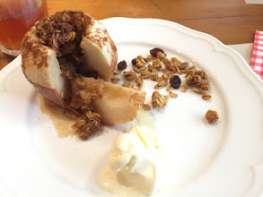 Photo: Baked Apples with Homemade Granola