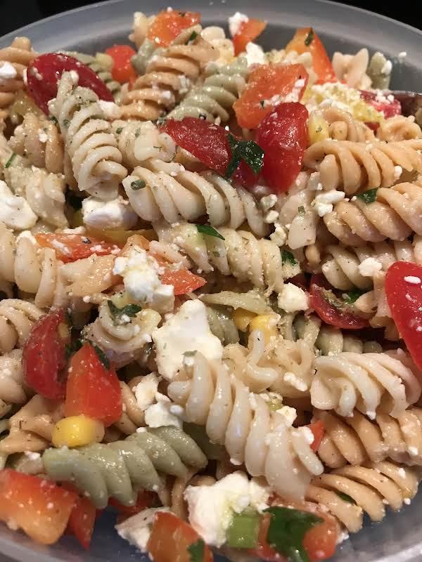 Pasta Salad - Greek-style