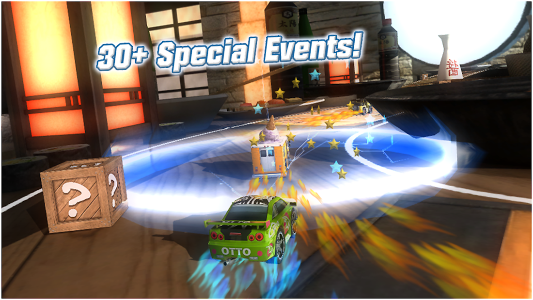 Table Top Racing Free Android App Screenshot