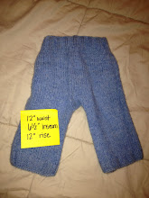 """Photo: $10 Wool """"Jeans"""""""