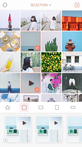 April - Camera360 cute Layout and Template 2.4.9 screenshots 1