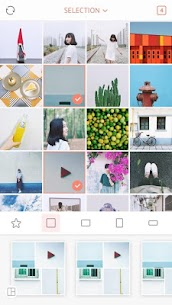 April – Camera360 cute Layout and Template 1