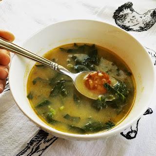 Caldo Verde Soup.
