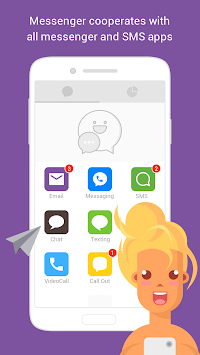 Messenger - Video Call, Text, SMS, Email APK screenshot thumbnail 5