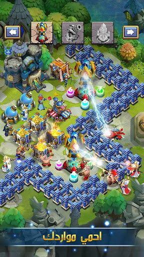 Castle Clash: u0641u0631u064au0642 u0627u0644u0634u062cu0639u0627u0646 apkpoly screenshots 9