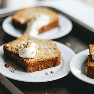 Zucchini Bread with Dates and Hazelnuts
