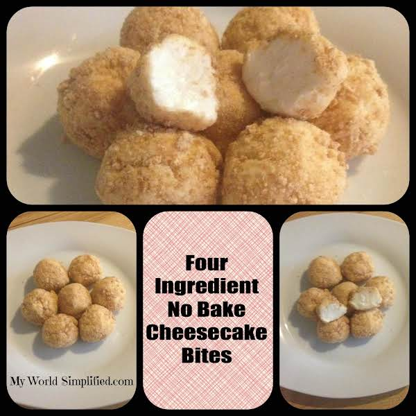 No Bake Cheesecake Bites Recipe