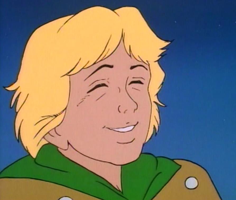 Hank smiles