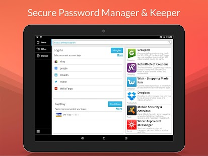 Fast Connect: Password Manager- screenshot thumbnail