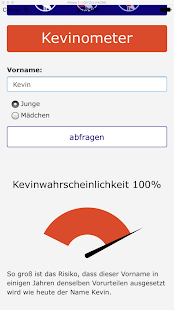 Kevinometer – Miniaturansicht des Screenshots