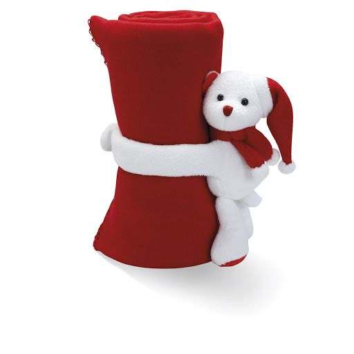 Christmas Soft Toys to Print - Santa Teddy