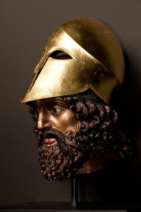 Gods in ColorReconstruction of the Riace Warrior A