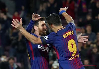 Flopée de goals au Camp Nou : triplé de Messi et bijou de Suarez