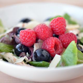 Raspberry Parmesan Chicken Salad.