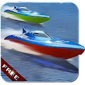 Turbo River Boat Racing