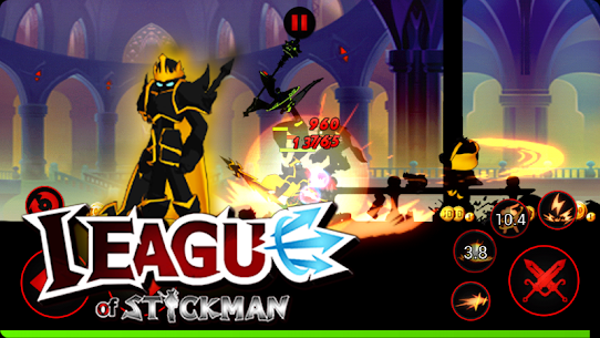 League of Stickman Free- Shadow legends(Dreamsky) 5