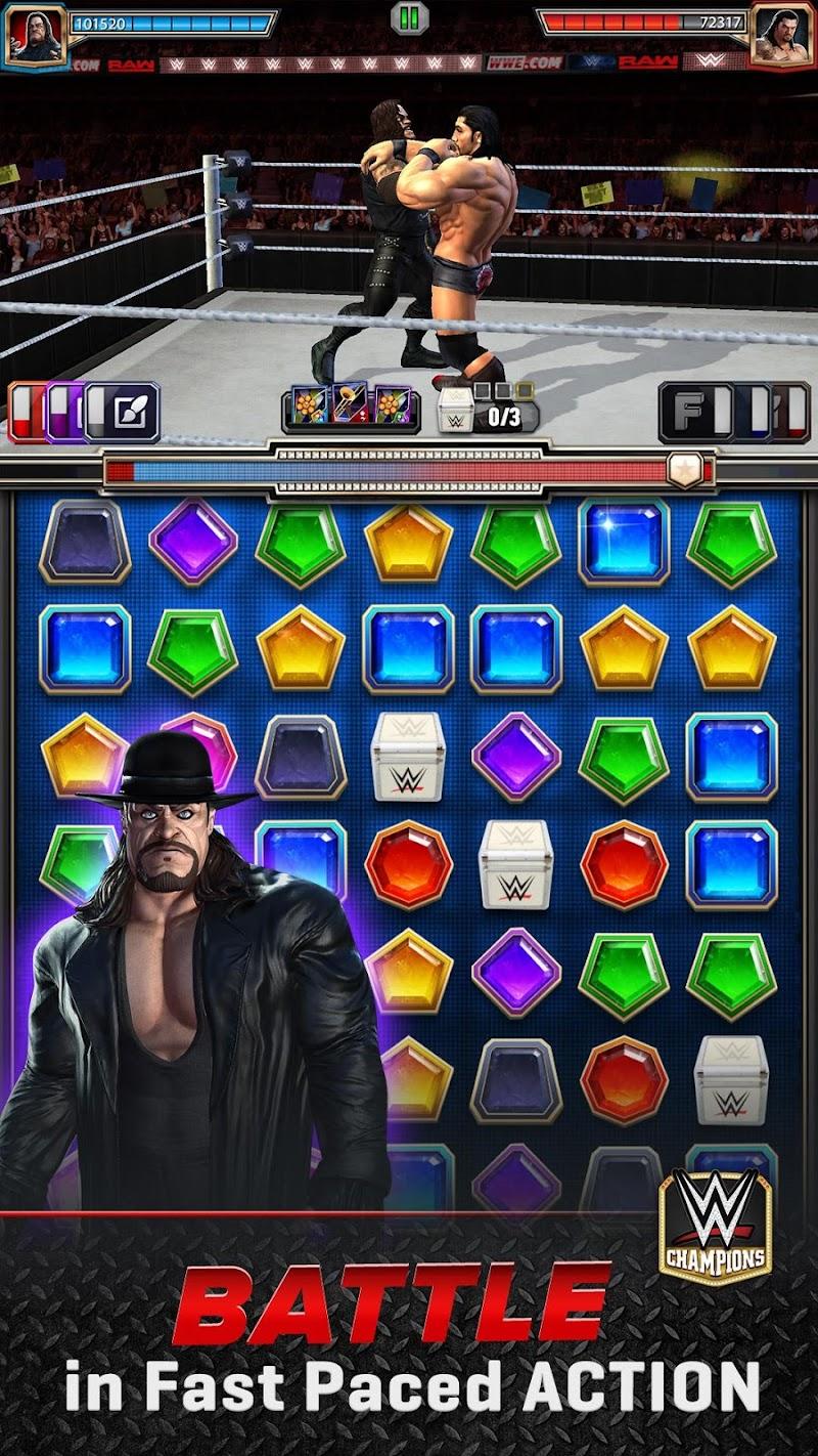 WWE Champions - Free Puzzle RPG Game Screenshot
