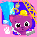 Cute & Tiny Construction Cars - Build a Pet Town icon