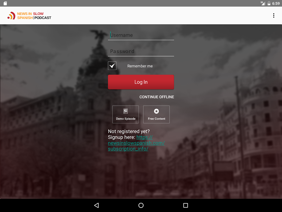 News in Slow Spanish- screenshot