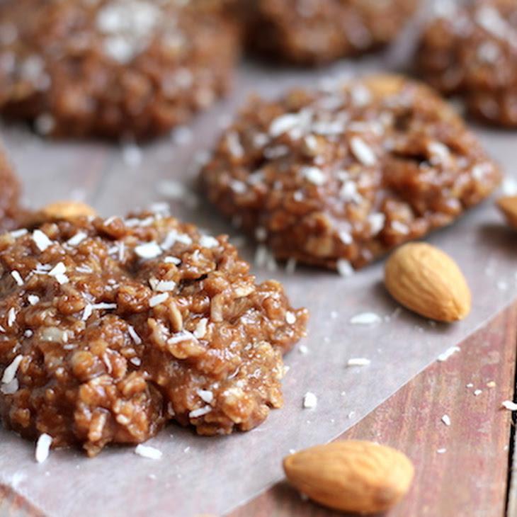 Healthy Almond Joy No-Bake Cookies