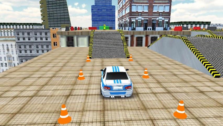 android Rooftop Car Stunts Screenshot 1