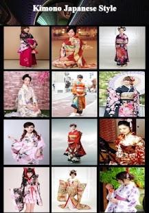 Kimono Japanese Style - náhled
