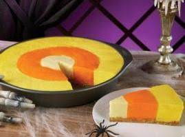 Candy Corn Cheesecake Recipe